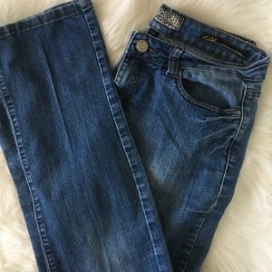 Kardashian Kollection Boot Cut Jeans